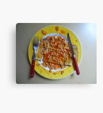 Big Breakfast by Luciano Pelosi Canvas Print