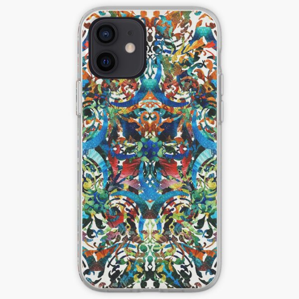 Bold Pattern Art - Color Fusion Design 8 By Sharon Cummings iPhone Soft Case