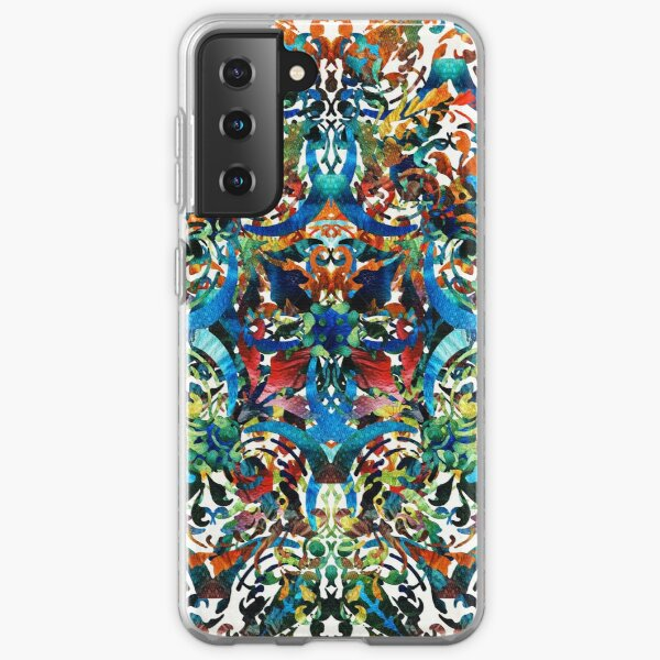 Bold Pattern Art - Color Fusion Design 8 By Sharon Cummings Samsung Galaxy Soft Case
