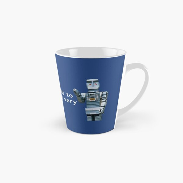 Face Mask, Marvin, Hitchhiker's Guide to the Galaxy.  Tall Mug