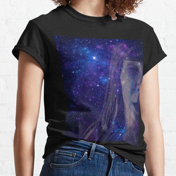 Galaxy Teardrop Face Classic T-Shirt