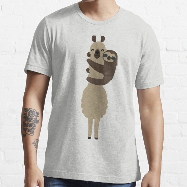 Llama and Sloth Essential T-Shirt