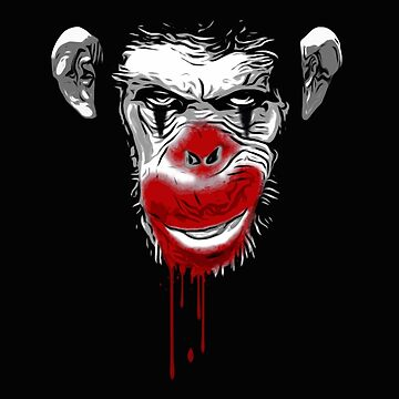 Evil Monkey Clown de Nicklas81
