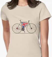 Love Bike, Love Britain Womens Fitted T-Shirt