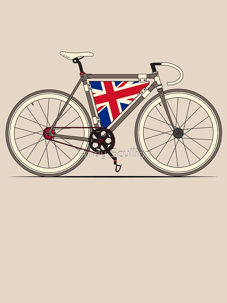 Love Bike, Love Britain | Unisex T-Shirt