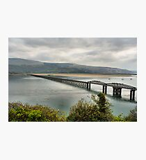 Barmouth Rail Crossing Photographic Print