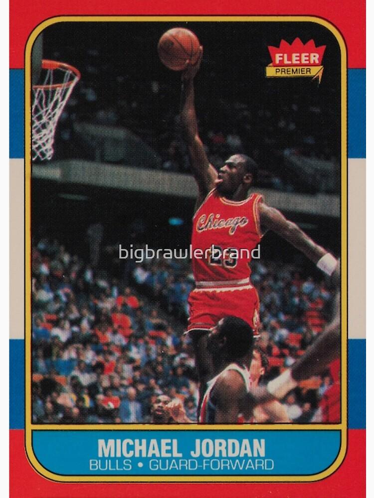 Michael Jordan - Fleer Trading Rookie Card - The Last Dance Edition by bigbrawlerbrand