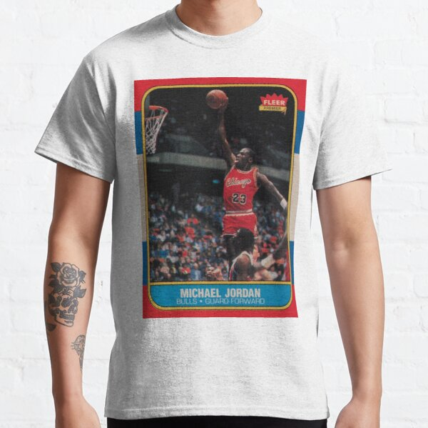 Michael Jordan - Fleer Trading Rookie Card - The Last Dance Edition Classic T-Shirt