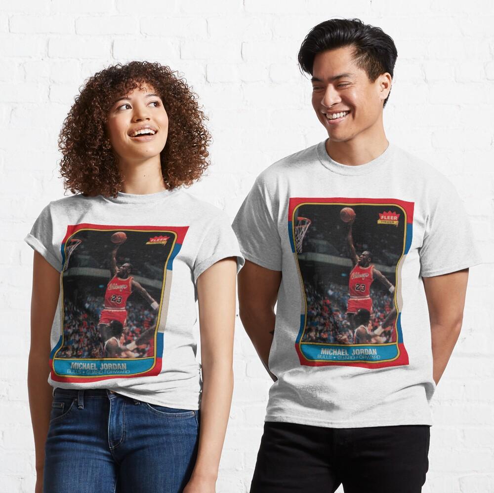 Michael Jordan - Fleer Trading Rookie Card - The Last Dance Edition Classic T-Shirt
