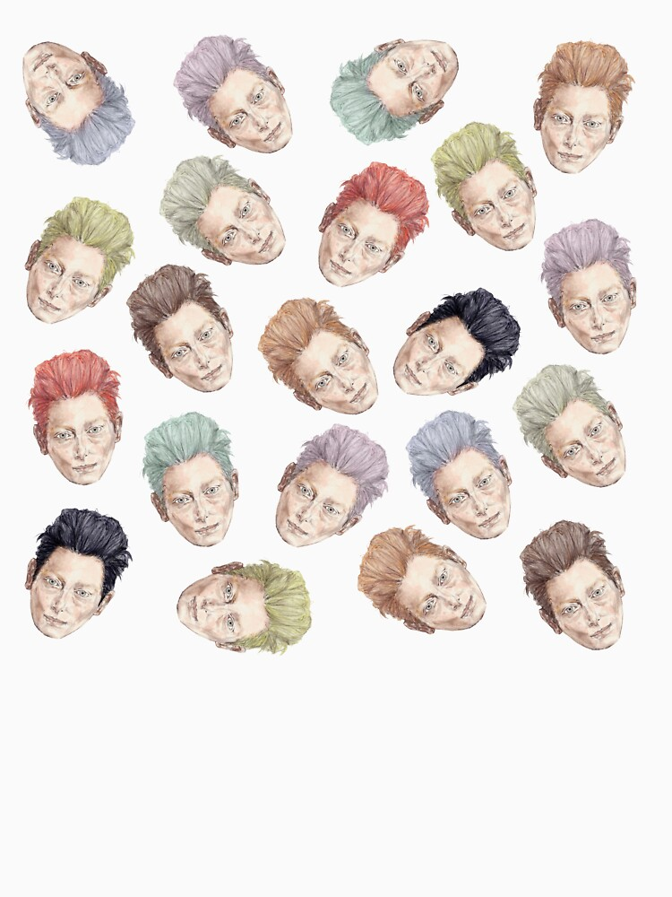 Colorful Tilda Heads by notsniwart