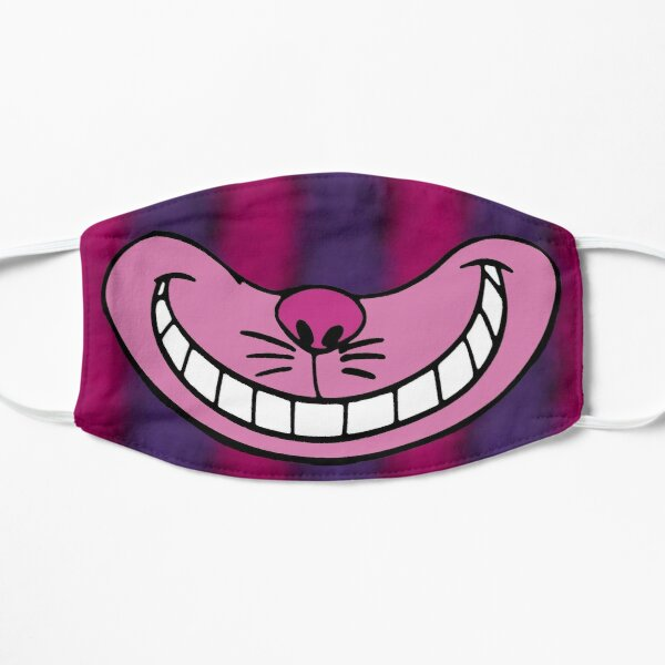 Cheshire Cat Smile  Flat Mask