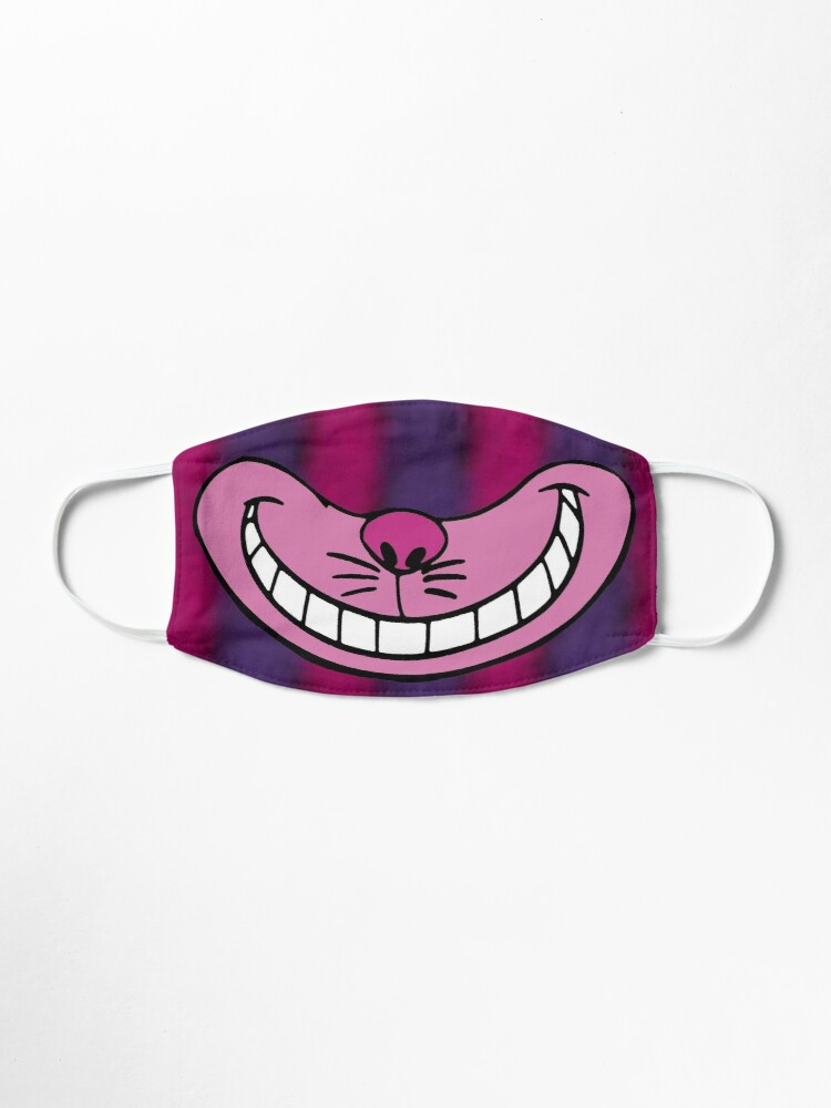 Cheshire Cat Smile Mask By Ely Designs Redbubble