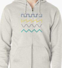 Waveform Zipped Hoodie