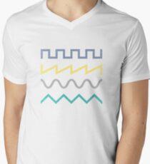 Waveform Men's V-Neck T-Shirt