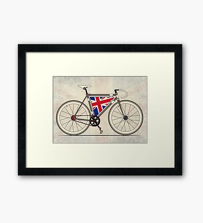 Love Bike, Love Britain Framed Print