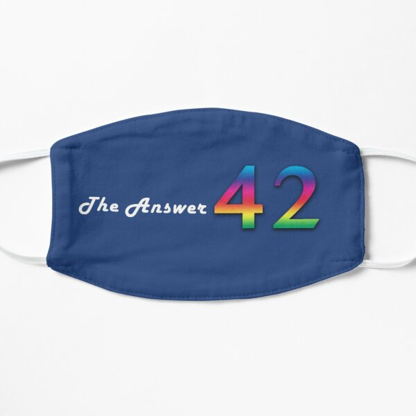 Hitchhiker's Guide - 42 - The Answer - Face Mask Mask