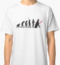 Human evolution Star wars Classic T-Shirt
