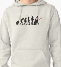 Human evolution Star wars Pullover Hoodie