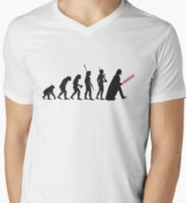 Human evolution Star wars T-Shirt