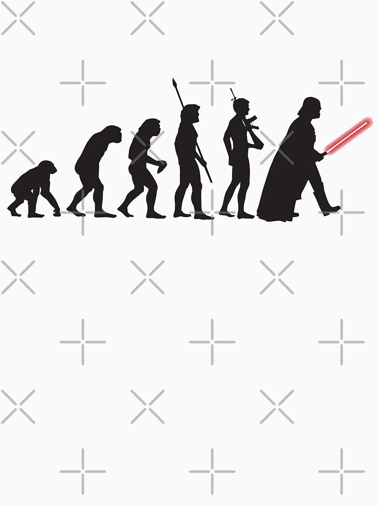 Human evolution Star wars | Unisex T-Shirt