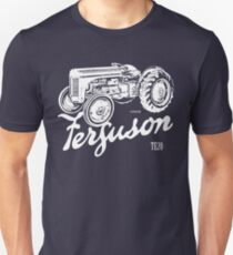 Classic Ferguson TE20 script and illustration T-Shirt