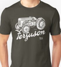 Classic Ferguson TE20 script and illustration Unisex T-Shirt