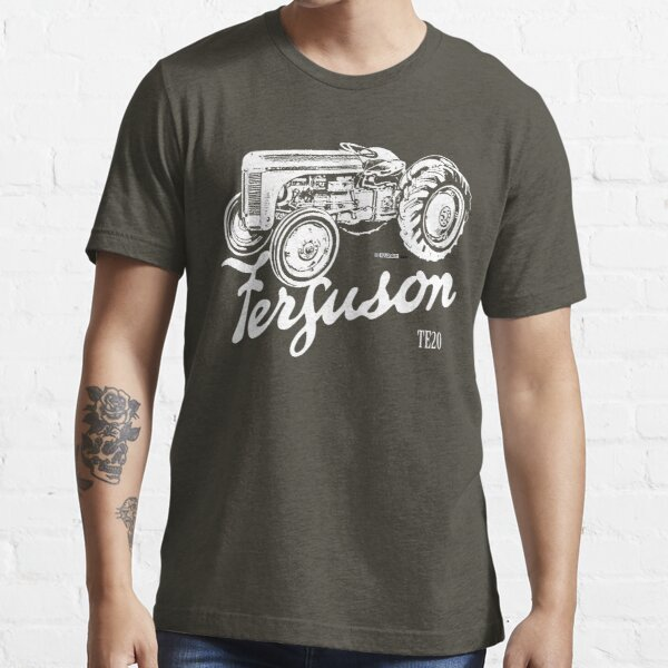 Classic Ferguson TE20 script and illustration Essential T-Shirt