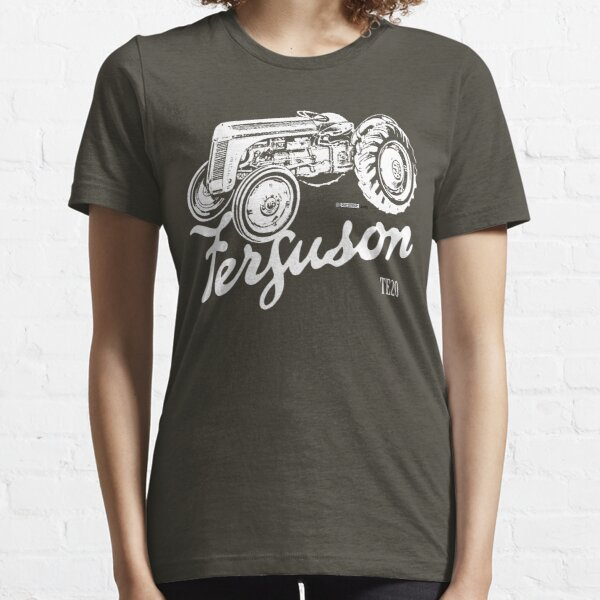 Classic Ferguson TE20 script and illustration Essential T-Shirt