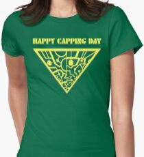 Happy Capping Day (The Tripods) Women's Fitted T-Shirt