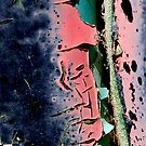 PEELING PAINT SERIES (3 of 12) by Betsy  Seeton