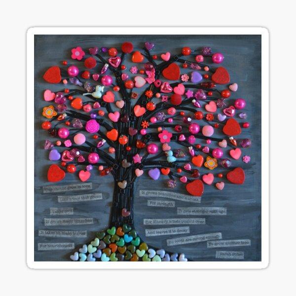 Love Tree Sticker