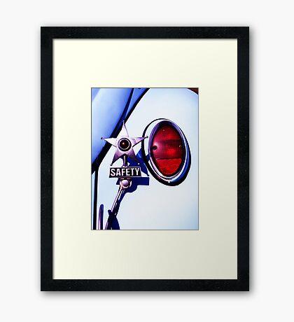 VW Safety Star Framed Print