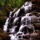 Sylvia Falls II - Blue Mountains NSW Australia by Brad Woodman