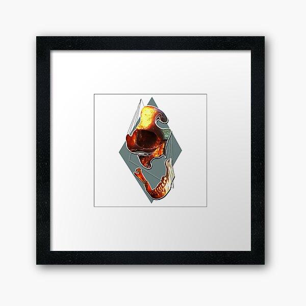 Parts Apart Framed Art Print