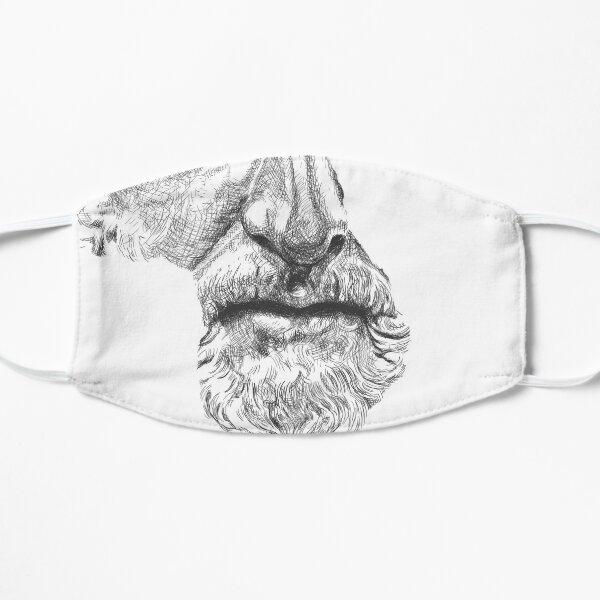 MARCUS AURELIUS ANTONINUS AUGUSTUS / black and white Maske
