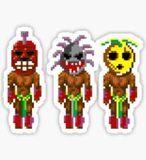 Monkey Island's Cannibals (Monkey Island) Sticker