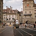 Tram Berne  19570921 0006  by Fred Mitchell