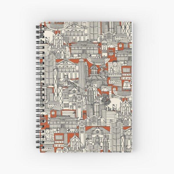 Hong Kong toile de jouy Spiral Notebook