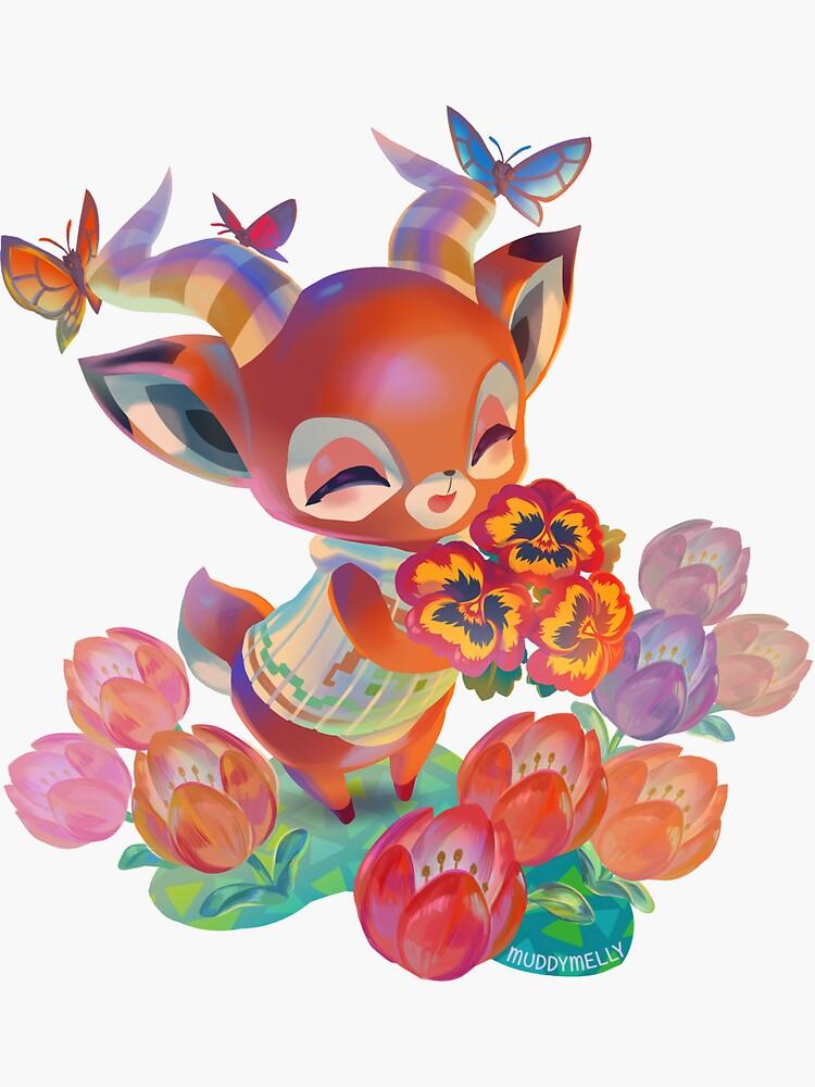 Animal Crossing Beau Bouquet by muddymelly