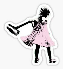 Hammer girl - Switched at Birth Sticker