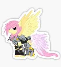 Lightning Fluttershy Sticker