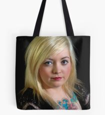 The Girl with the Tattoo Tote Bag