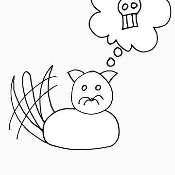 Kitten Thinks Of Nothing But Murder All Day by ghengisjohn