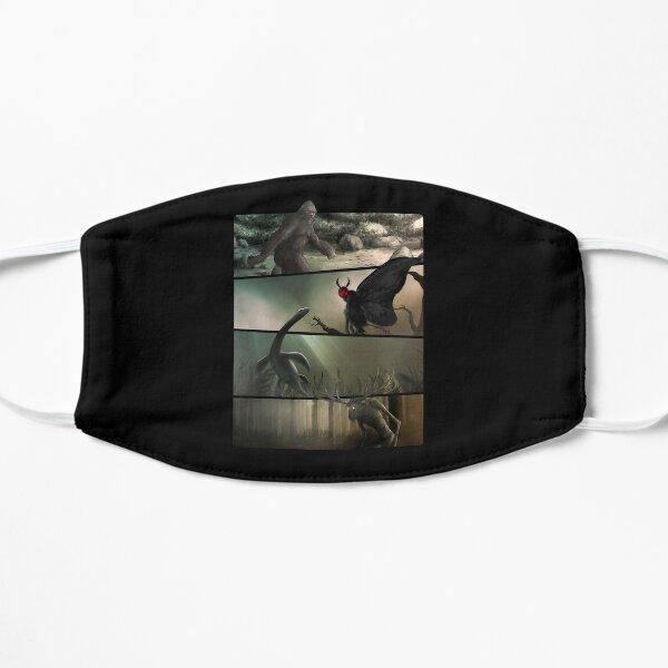 Bigfoot, Mothman, Nessie, Wendigo - Original Cryptid Artwork Flat Mask