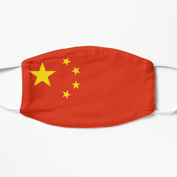 China Gesichtsmaske Flagge Maske