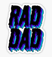 Rad Dad Sticker