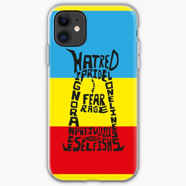 The execution of thought iPhone Soft Case