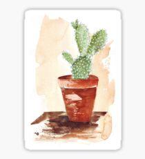 Bunny Ears Cactus (Opuntia microdasys) Sticker