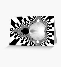 Mandelbrot  Greeting Card