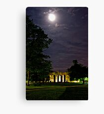 Fieldhouse Mall at Night Canvas Print